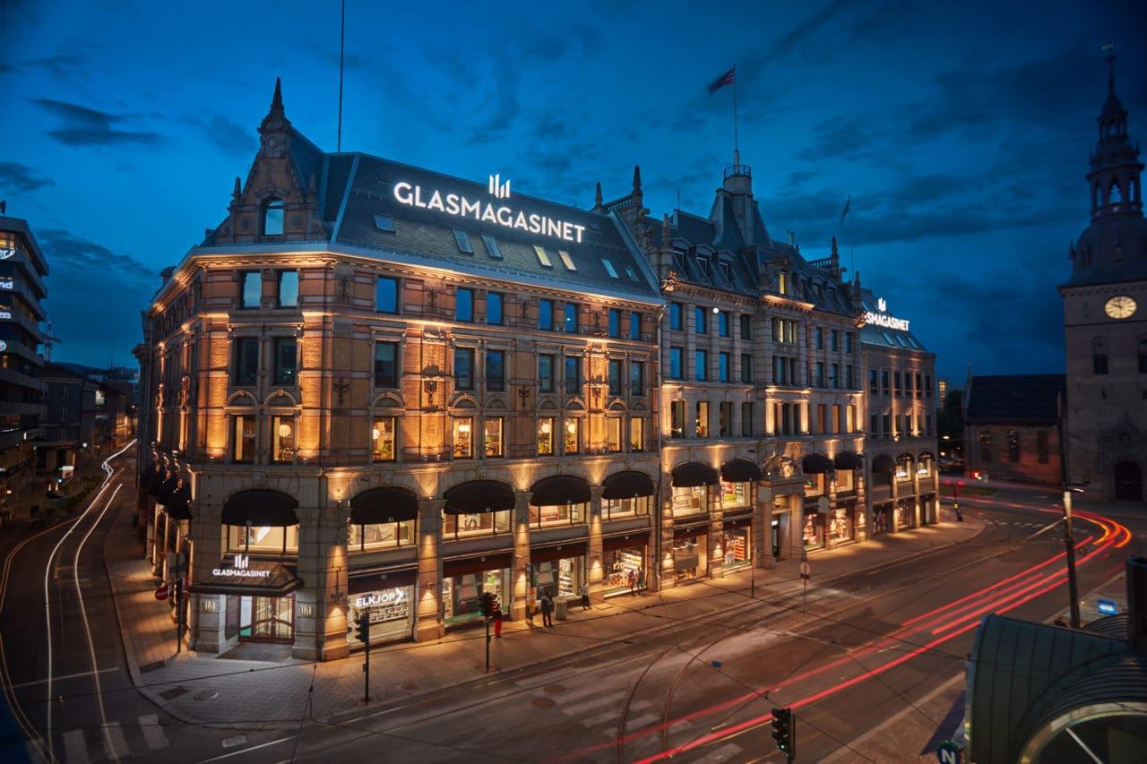 Glasmagasinet, Oslo, Stortorvet